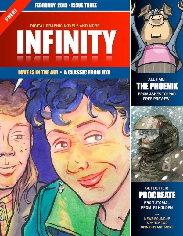 Panel Nine's INFINITY issue 3