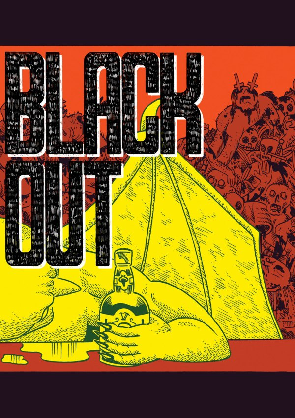 BLACKOUT cover by Jack Fallows