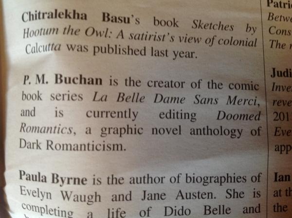P M Buchan TLS bio