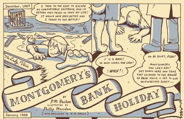 Montgomery's Bank Holiday preview by P M Buchan and Phillip Marsden
