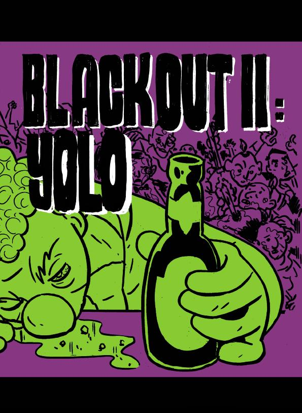 BLACKOUT II YOLO cover by Chris Doherty